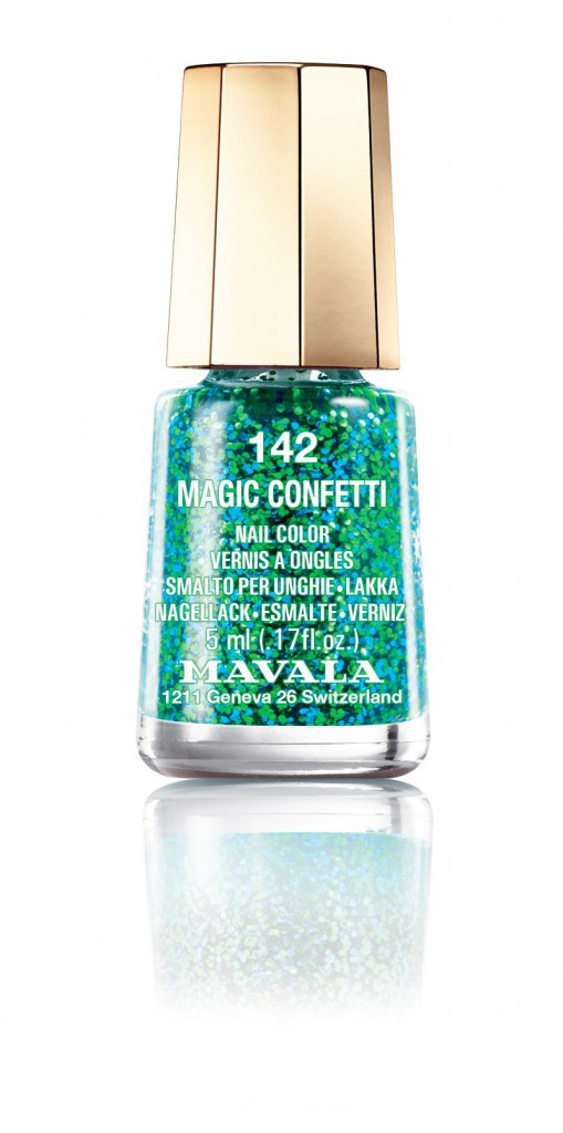 Fêtarde à Séville : Vernis à ongles Magic Confetti, Mavala 5,40 €