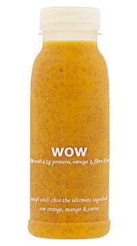 Jus aux graines de chia, Wow. 2,69 €.
