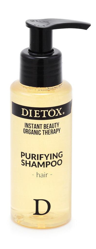 Shampooing purifiant bio, Dietox. 12 €.
