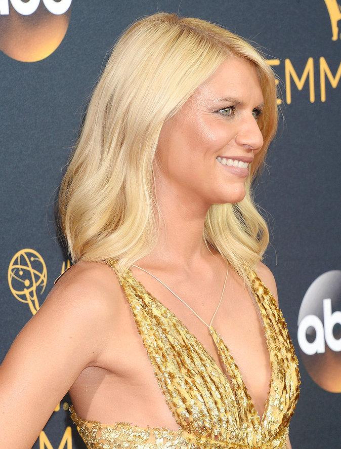 Le blond platine de Claire Danes