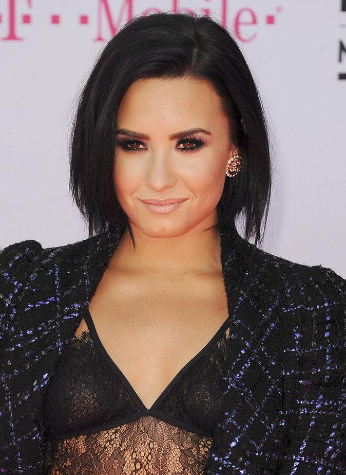 Le carré court de Demi Lovato