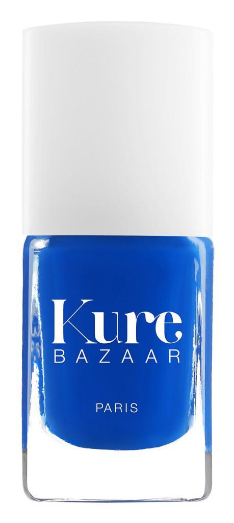 Des vernis éthiques : Vernis à ongles, Mon Bleu, Kure Bazaar 16 €