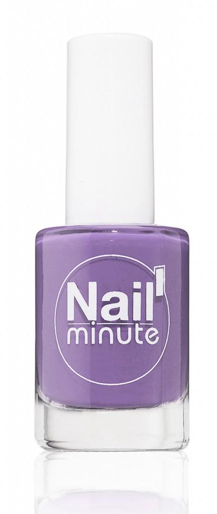 Des vernis éthiques : Vernis à ongles, violet, Nail'Minute chez body'Minute 45 €