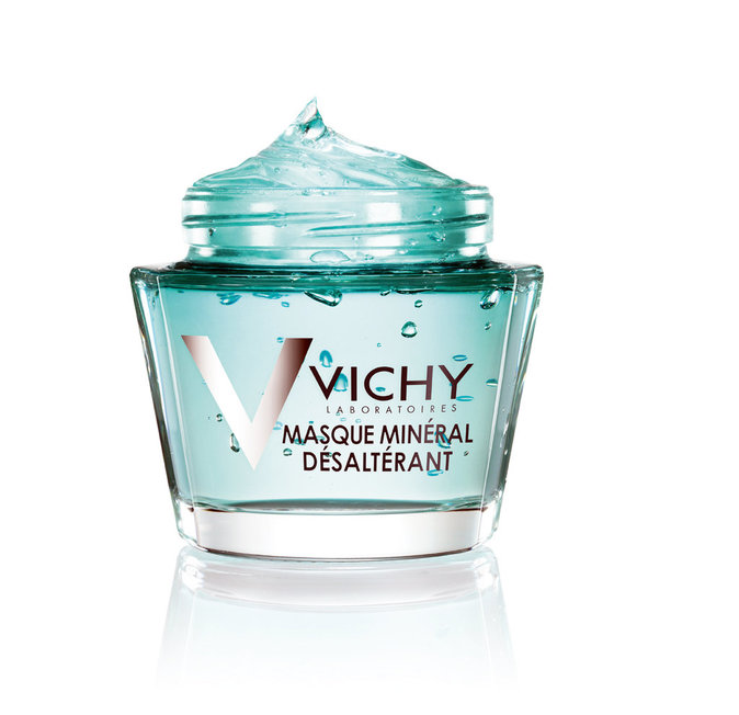 Masque Minéral Désaltérant, Vichy. 20 €.