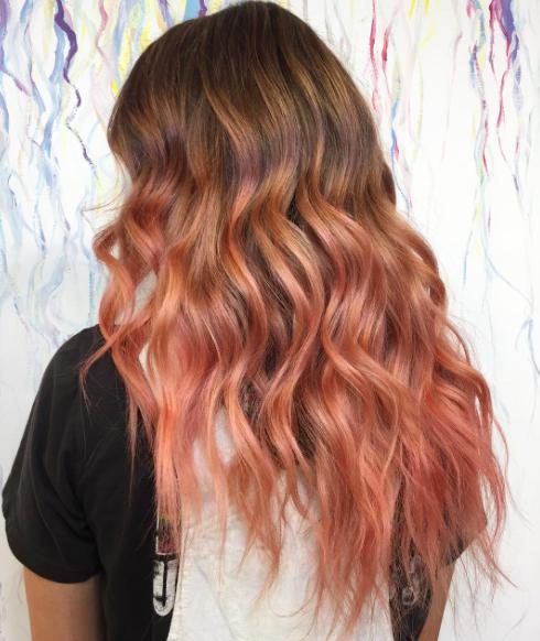photos cheveux le blorange est la coloration tester en 2017 - Test Coloration Cheveux
