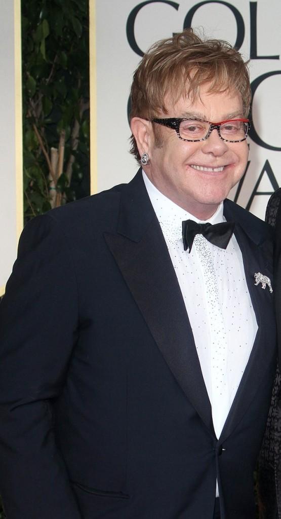 Elton john, une voix et un sourire en or !