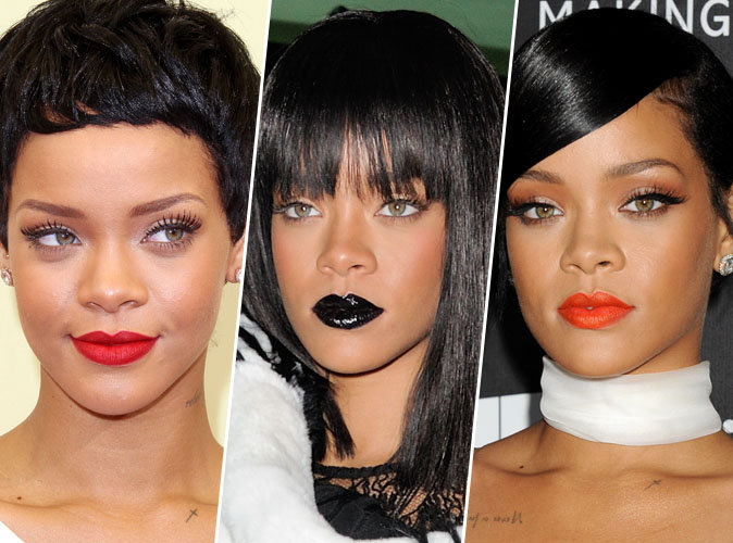 Happy Birthday Rihanna ! La reine des lipsticks colorés fête ses 29 ans !