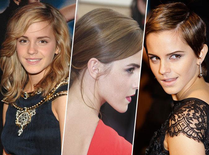 Joyeux anniversaire Emma Watson : découvrez l'évolution capillaire d'Hermione Granger !
