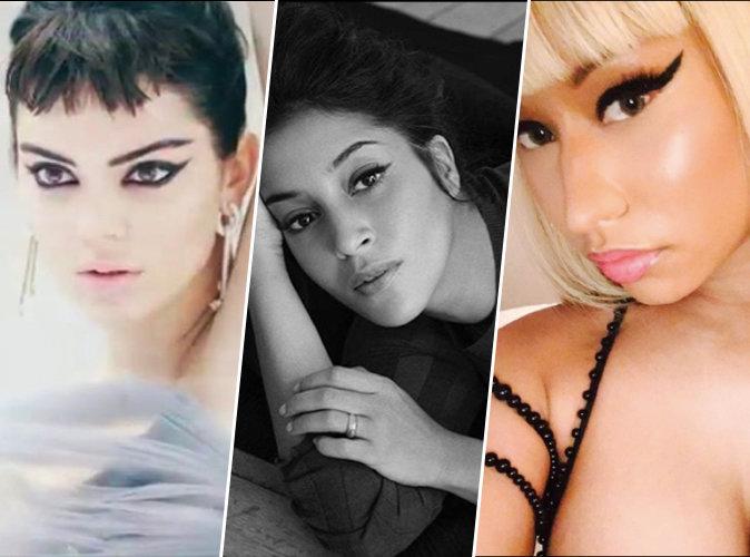 Kendall Jenner, Leila Bekhti, Nicki Minaj, La technique infaillible pour réussir son trait d'eyeliner