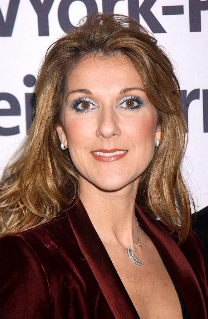 Chevelure sauvage pour Céline Dion !