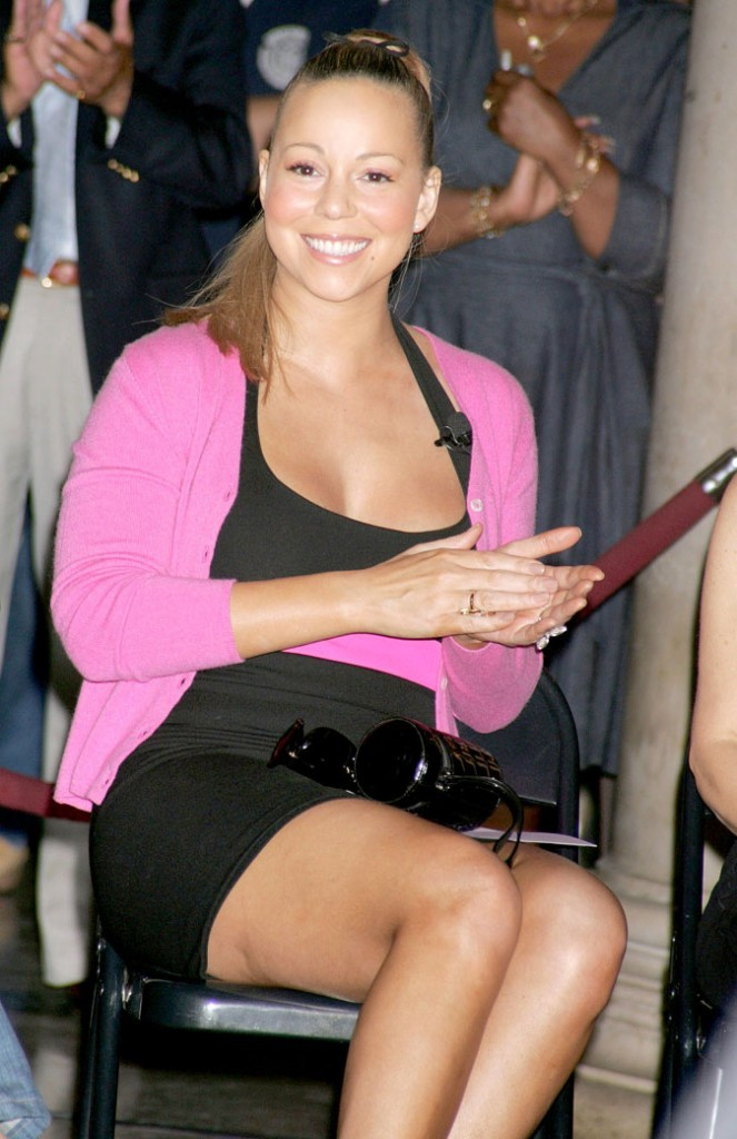 Photo : la cellulite sur les cuisses de Mariah Carey
