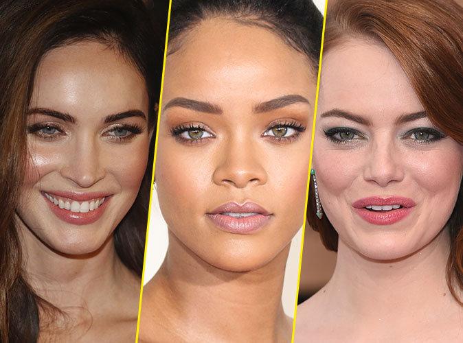 Megan Fox, Rihanna, Emma Stone... Découvrez les plus beaux sourcils d'Hollywood !