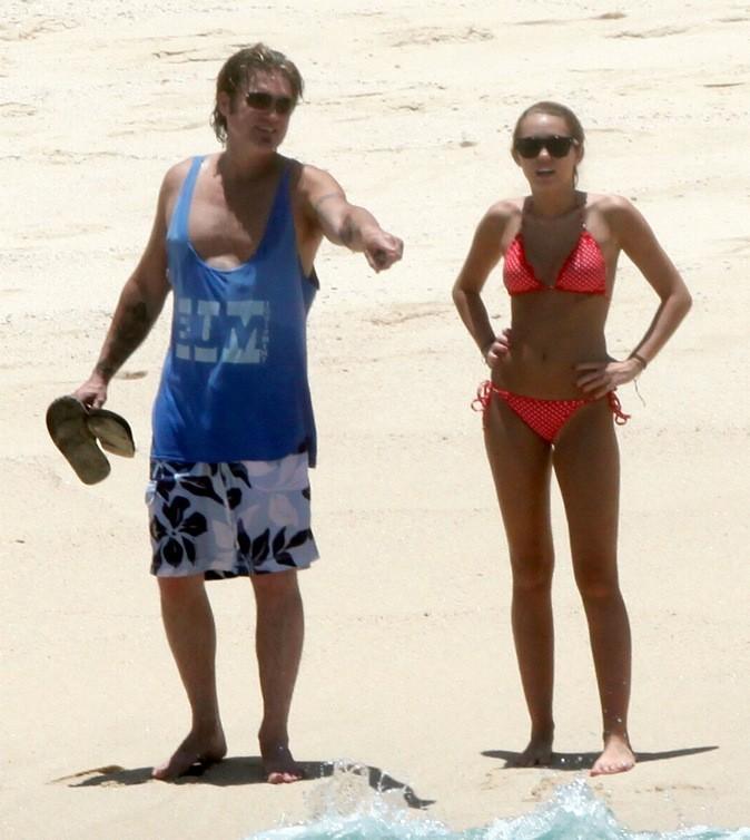 Miley Cyrus à la plage !
