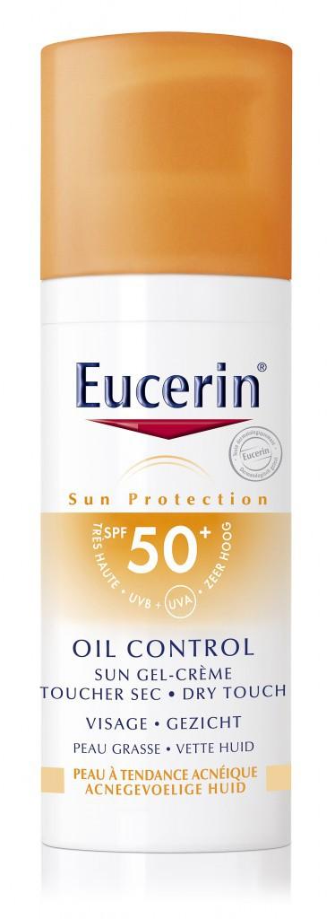 Sun gel-crème, SPF 50, Oil Control, Eucerin 10,50 €