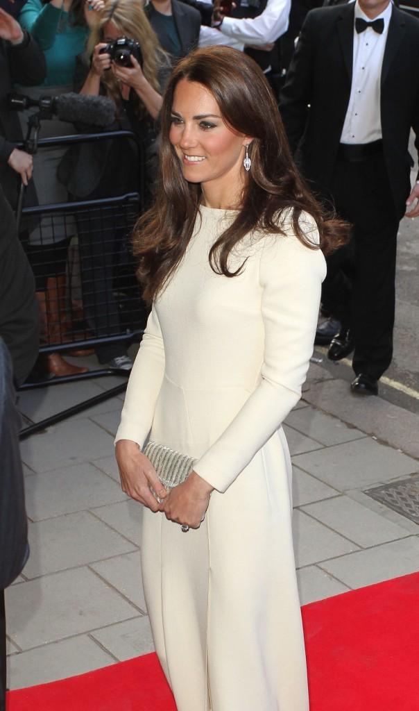 Kate Middleton sur tapis rouge