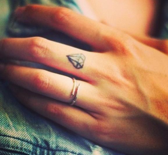 Photos premier tatouage 99 mod les de petits tatouages - Dessin de doigt ...