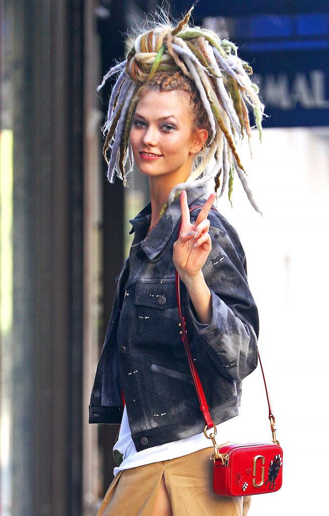 Karlie Kloss au dernier défilé Marc Jacobs