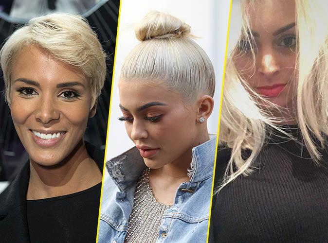 Photos : Shy'm, Kylie Jenner, Mélanie Da Cruz... toutes les nouvelles adeptes du blond platine !