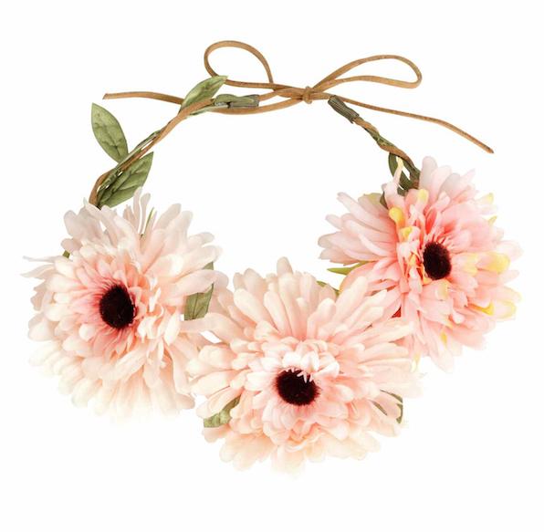 Couronne de fleurs, H&M, 9,99€