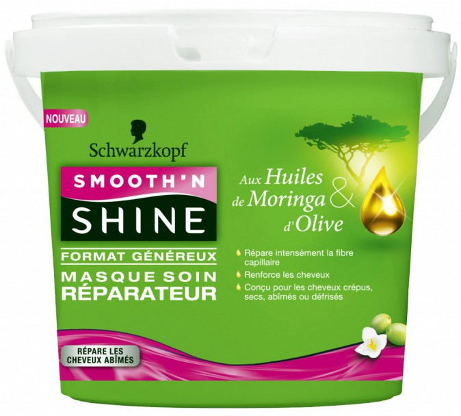 Masque soin réparateur Smooth'N Shine, Schwarzkopf 14,90 €