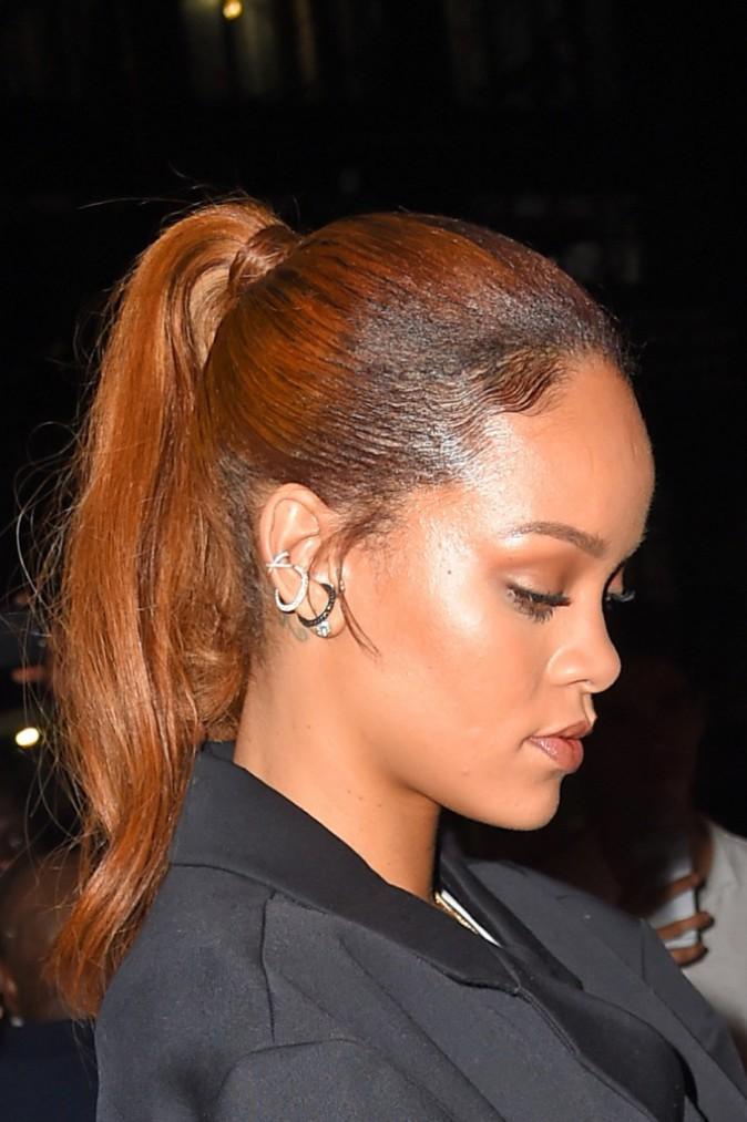 Rihanna : la queue de cheval haute