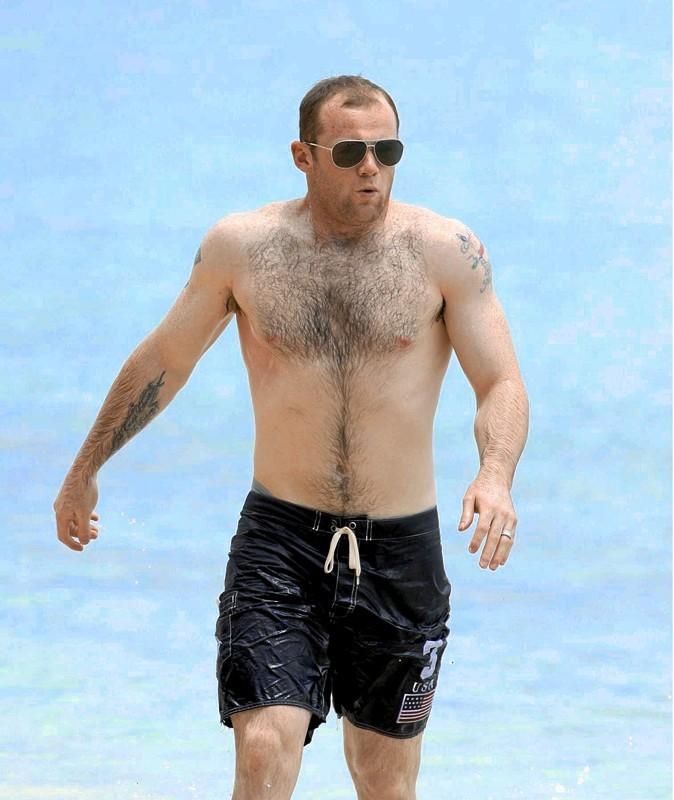 Photos stars sexy : Wayne Rooney, un poil repoussant...