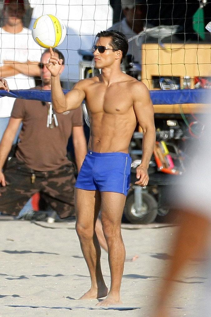 Star sexy imberbe : Mario Lopez