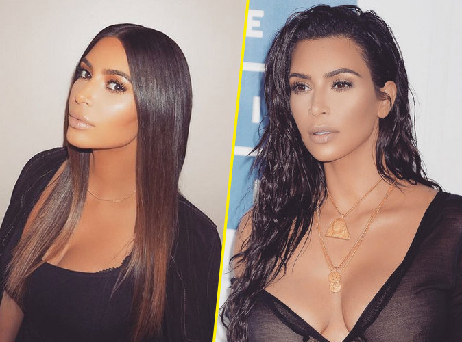 Vous ne devinerez jamais avec quoi Kim Kardashian se lave les cheveux !