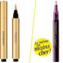Produits de beauté : je veux le même stylo correcteur, en moins cher !