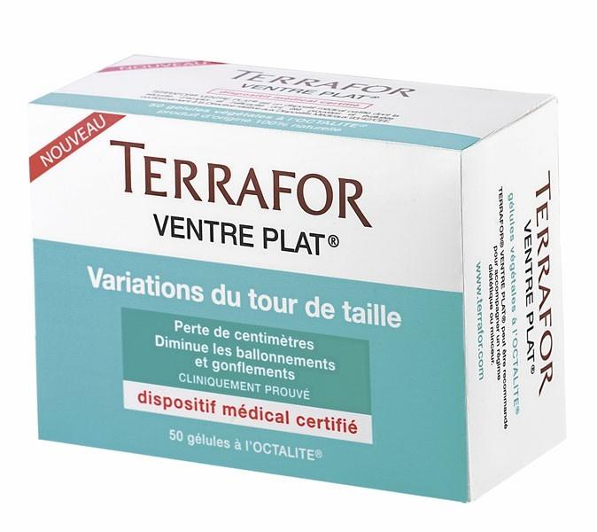 Produits minceur : avec Variations du tour de taille, Ventre plat de Terrafor, adieu les sensations de ballonnement !