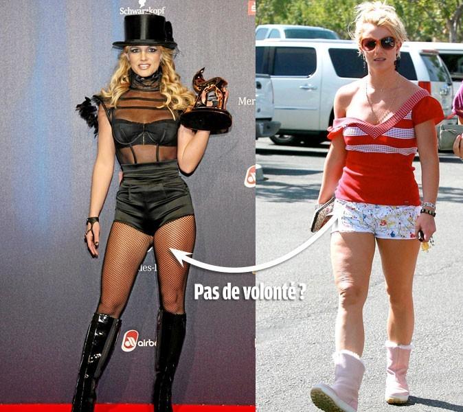 Le régime de Britney Spears, 65 kg : reine du yoyo !
