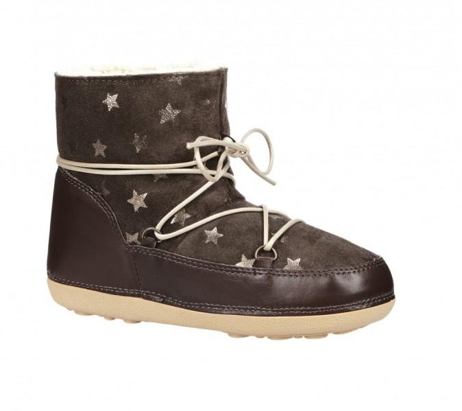 Boots en cuir fourrées, Anniel sur Monshowroom,170 €