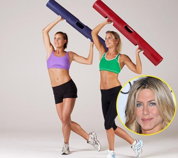Sport de star : sécher de haut en bas comme Jennifer Aniston avec le VIPR !