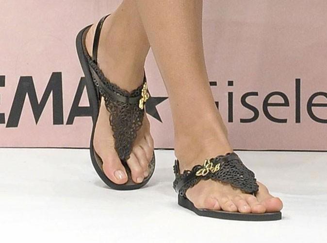 Spécial pieds : Gisele est belle jusqu'au bout des orteils !
