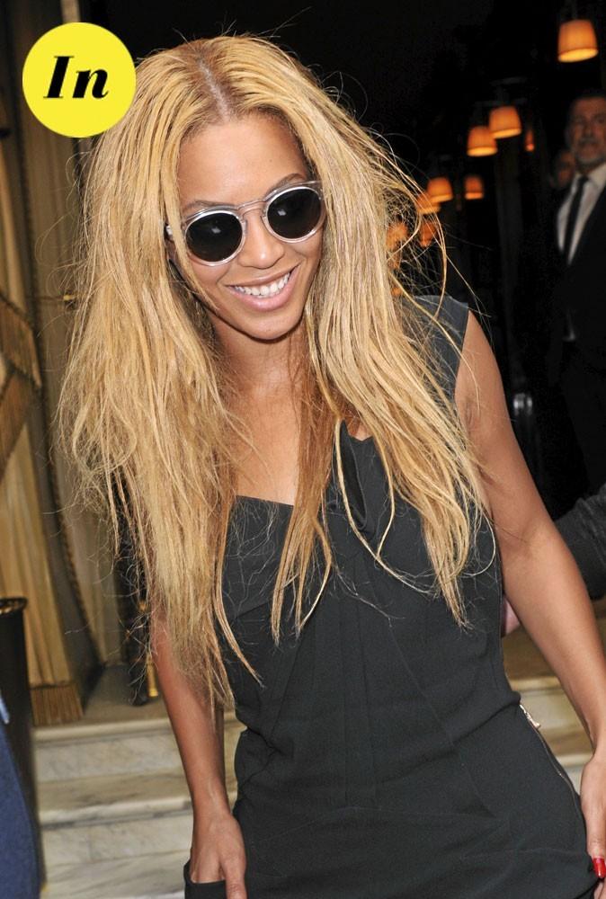 Les lunettes rondes de Beyoncé pour l'été 2011