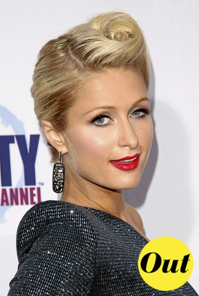 Les tendances beauté été 2011 : la coiffure rétro de Paris Hilton