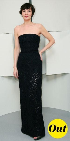 César 2010 : la robe bustier de Jeanne Balibar