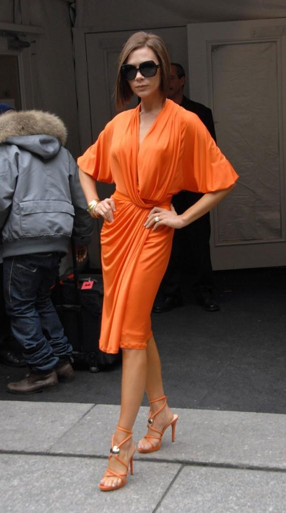 Victoria Beckham en février 2008