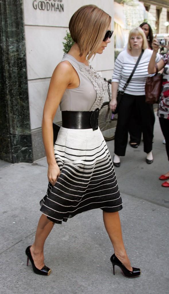 Victoria Beckham en juin 2008