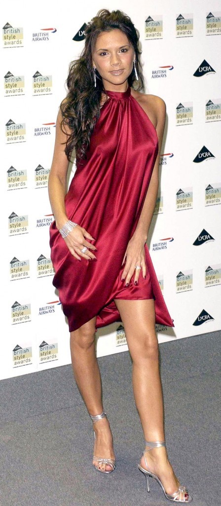 Victoria Beckham en septembre 2003