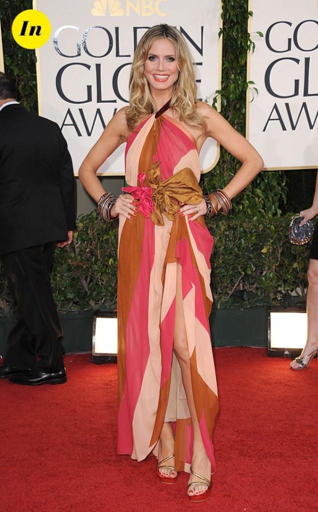 Un style vintage bien accessoirisé, Heidi maîtrise.