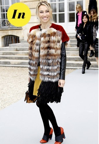 Alexandra Golovanoff chez Dior