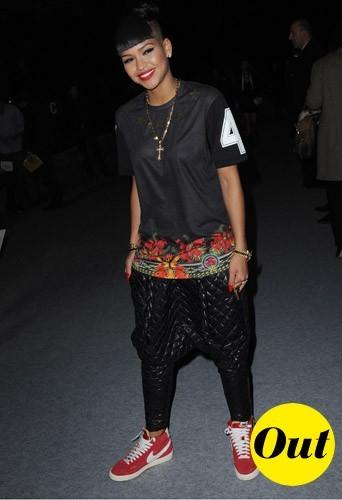Cassie chez Kanye West