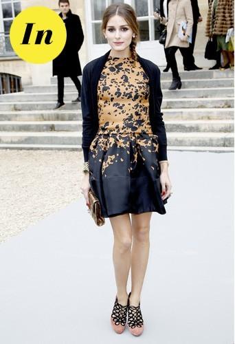 Olivia Palermo chez Dior