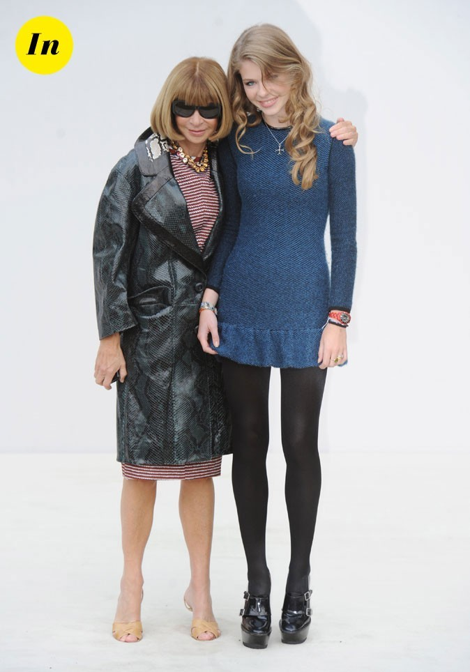 Fashion Week de Londres : Anna Wintour et sa nièce au défilé Burberry !