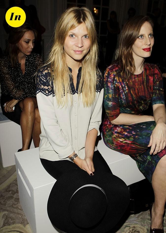 Fashion Week de Londres : Clémence Poésy au défilé Erdem !