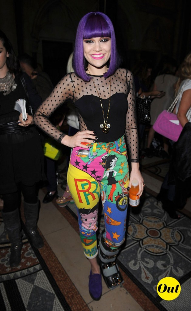 Fashion Week de Londres : Jessie J au défilé Giles !