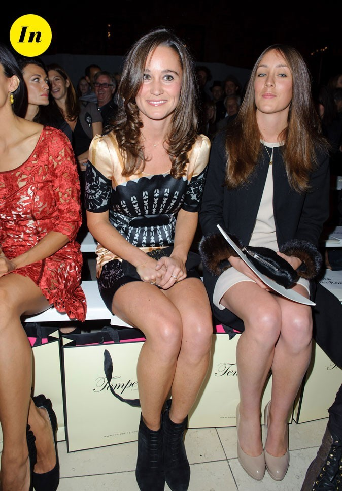 Fashion Week de Londres : Pippa Middleton au défilé Temperley !