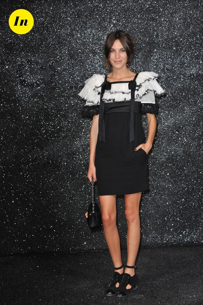Alexa Chung au défilé Chanel