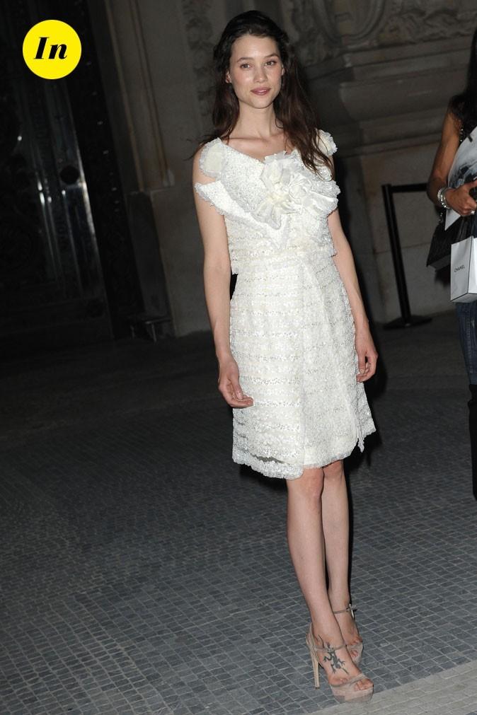 Astrid Bergès-Frisbey au défilé Chanel